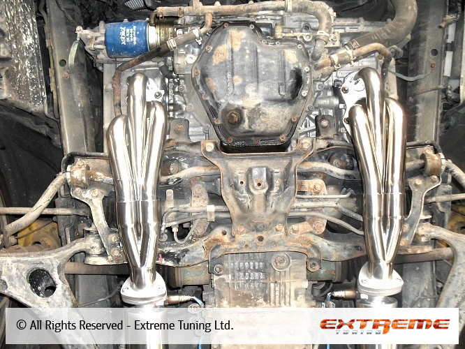 Subaru Legacy H6 Exhaust Manifolds And Exhaust System