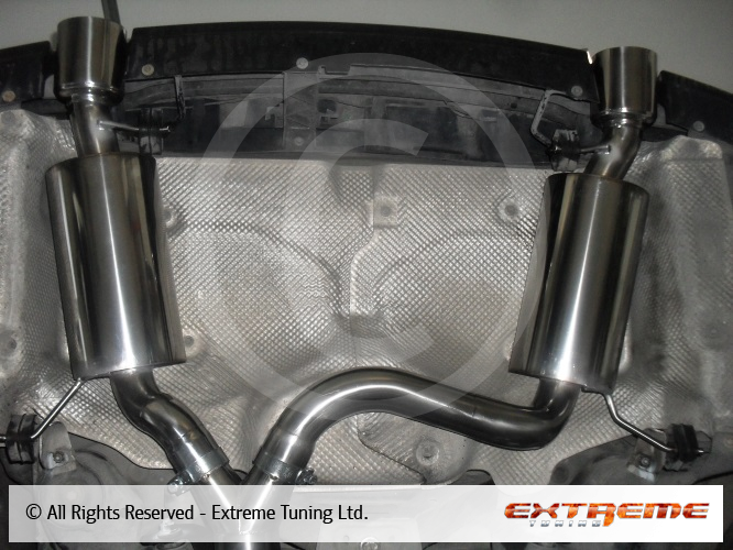 BMW 335D E91 3 0 twin turbo - 84mm exhaust manifold with 60mm twin