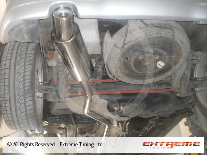 peugeot 206 gti - exhaust system | sport exhausts | exhaust
