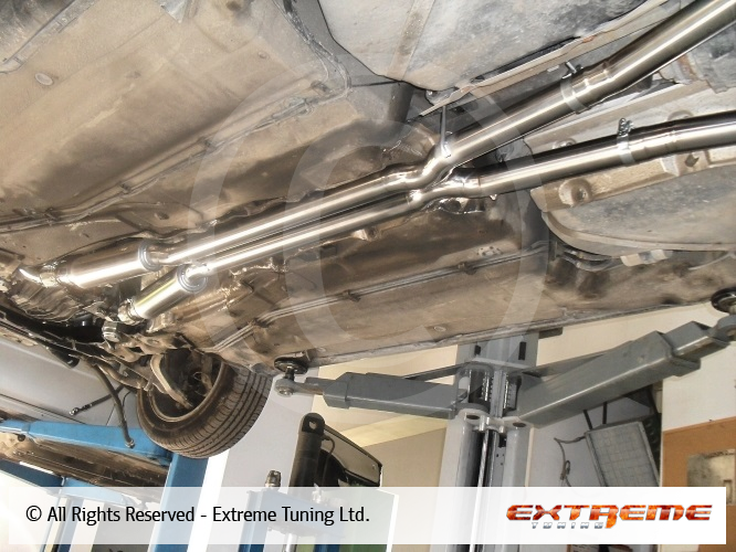 Audi S4 2 7 Biturbo K04 Downpipe And 63mm Twin Exhaust With X Pipe Sport Exhausts Exhaust