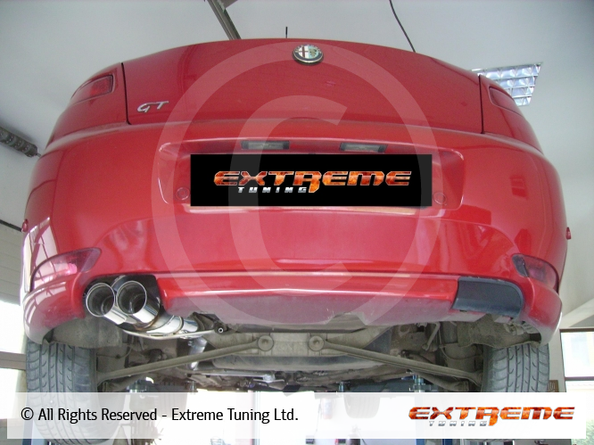 Alfa Romeo GT 1.9 JTD - Exhaust system | Sport exhausts ...