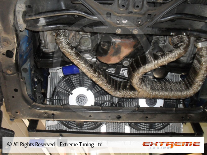 Alfa romeo 75 ts exhaust manifold 17