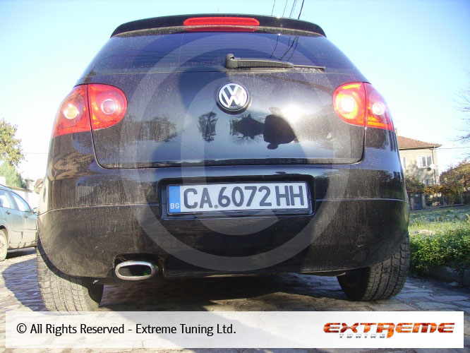 vw golf 5 1 9tdi exhaust system sport exhausts exhaust manifolds sport exhaust systems. Black Bedroom Furniture Sets. Home Design Ideas