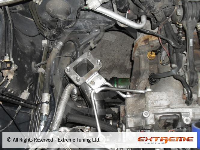 Subaru Forester 2 5XT - Rotated turbo kit BorgWarner EFR