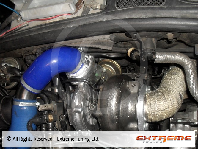 Audi A4 2.5 TDI - Garrett 2260 turbocharger installation | Sport exhausts | Exhaust manifolds ...