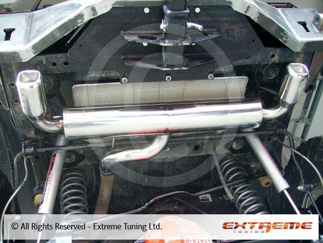 Jeep Liberty Rear Muffler Sport Exhausts Exhaust
