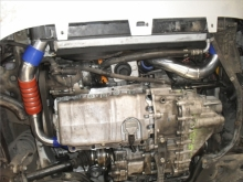 Seat Leon 1.9TDI 4Motion - Turbo boost tubes and exhaust system