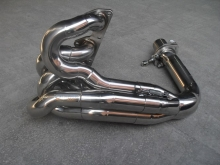 Honda Prelude H22A - Exhaust manifold with stepped pipes, 4-1 design, and 70mm exit flange