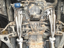 Subaru Legacy H6 - Exhaust manifolds and exhaust system