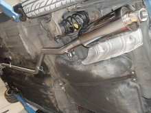 Alfa Romeo 145 - Exhaust manifold with ARC and free flowing 63mm exhaust system