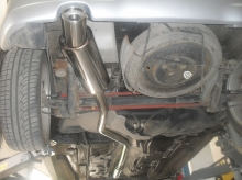 Peugeot 206 GTI - Exhaust system
