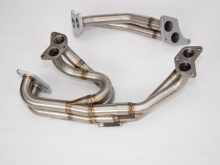 Subaru Impreza EJ20 Twins crow - еxhaust-manifold and up pipe