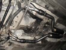 BMW Alpina M62B44 E34 - Exhaust manifolds with ARC 4-1 and 60mm resonators