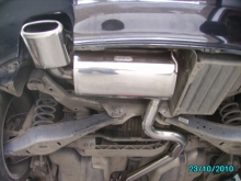 VW Golf 5 1.9TDI - Exhaust system