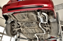 Honda Prelude - Complete exhaust system with twin-loop muffler and exhaust manifold with anti-rеversion chambеrs