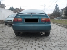 Honda Civic D16 - Exhaust system
