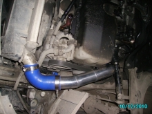 Monster Golf 4 1.9TDI 300hp - Exhaust manifold, Intake manifold, Turbo boost tubes